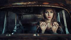 Spider's web (Damian Pirko) Tags: portrait color mood cinematic