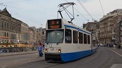 Amsterdam 2016 - Tramway type 12G (hrs51) Tags: tram tramway strassenbahn amsterdam 12g streetcar niederlande netherlands holland