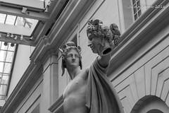 Met Statue (strjustin) Tags: nyc newyorkcity blackandwhite sculpture ny newyork art canon blackwhite 1855mm themet metropolitanmuseumofart 60d canon60d