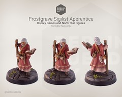 Sigilist Apprentice / Frostgrave / NorthStar (berlintuesday) Tags: painting miniatures painted fantasy tabletop minis wargames northstar wargaming warmongers soothsayer frostgrave sigilist musyical apprenticemodels