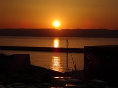 Le Mucem @ Sunset (Hlne_D) Tags: sunset sea mer france museum marseille muse paca provence mediterraneansea vieuxport coucherdesoleil mditerrane bouchesdurhne mermditerrane fortstjean provencealpesctedazur diguedularge fortsaintjean mucem musedescivilisationsdeleuropeetdelamditerrane hlned
