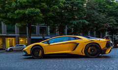 on the move (Benoit cars) Tags: pictures street city urban beautiful yellow photoshop jaune canon photography photographer photos images photograph fotos bild lamborghini lightroom 2016 superveloce photography aventador super canon car voiture flickr awesome worldcars supercars exotic expensive lp7504 hypercars supercar spotting spotted streetcars sportscars worldofcars 6d sportscar spot carscars