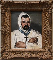 Paul Cezanne - Antoine Dominique Sauveur Aubert, the Artist's Uncle, as a Monk 1866 (ahisgett) Tags: new york art museum met metropolitian