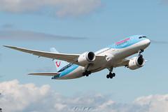 Thomson 787-8 (Zorro Photography) Tags: thomson newcastleairport dreamliner boeing787