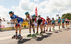 2016-07-30 EK Skeeleren Steenwijk (79a) (Peter Donderwinkel) Tags: ekskeeleren2016steenwijk inlineskating seniorladies junioraladies ek klimvansteenwijk schaatsennl kpn skeeleren outdoor sport event speed race canon