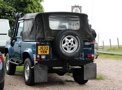 J632 YRM (Nivek.Old.Gold) Tags: 1991 land rover defender 90 tdi softtop 2495cc