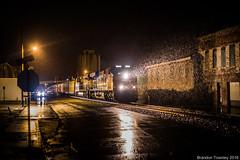 Wet (Brandon Townley) Tags: trains railroad csx night rain wet moist marion ohio