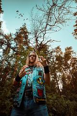 IMG_5133 (rodinaat) Tags: longhair longhairman longhairedman longhaired beard bearded metal metalhead powermetal trashmetal guitar musican guitarplayer brutal forest summer sun