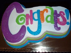 M01094 (merrittsbakery) Tags: cake shaped congrats