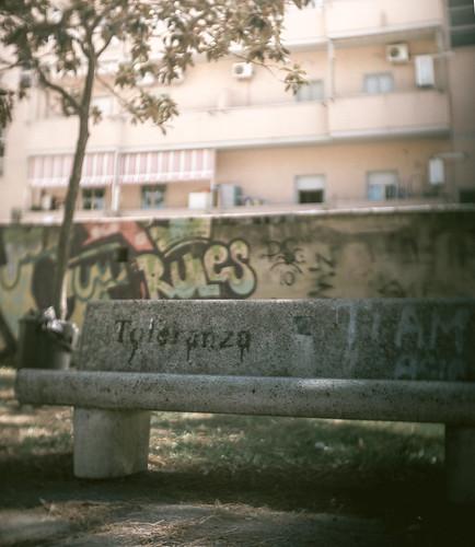 Toleranza - urban poetry