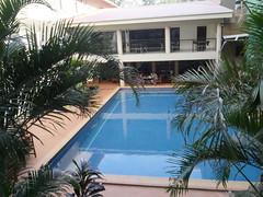 Hotel pool at Ela beach hotel