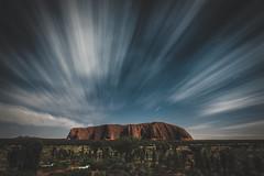Uluru ArersROCK ( : LIU Photography ) Tags: world australia ayers rock bw sky sigma nikon d810 24mm