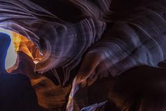 Antelope Canyon, Arizona (Sigmundur Andresson (1.3 million+ views-Thank you!) Tags: sigmundurandresson img0486 canoneos5dmarkii canonef1635mmf28liiusm antelopecanyon arizona page canyon navajo thecrack landscapes nature lakepowellnavajotribalpark photogenic landscape