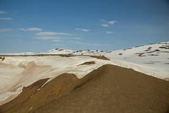 Krafla Viti Crater 22 (sarahmonious) Tags: kraflaviticrater kraftla viti myvatn kraftlavolcano volcanocrater crater hverir snow route1iceland route1 ringroad iceland iceland2016 icelanding2016 traveling