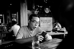 28 (indrarosalia) Tags: bali fujifilm x100t classic chrome kuta pantai vacation terfujilah indonesia sunset beach kuliner food eatwell pak dobil