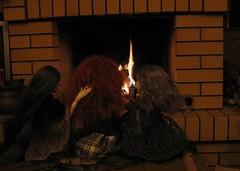 by the fireplace (frigida66) Tags: bjd dollchateau agatha isabel douglas