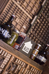Behind the Server Station (Stephen Gardiner) Tags: toronto ontario 2016 yongestreet barvolo lastdaysatvolo closing beer bar brewing patio pentax k3ii 1645