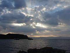 (Ira H.) Tags: knoydart scotland sunset clouds sea
