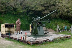The only working example of a British WW1 Anti-aircraft gun as seen on a day trip to Dover Castle (favmark1) Tags: dovercastle phoebe