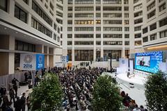 AM16 One-on-One with Christine Lagarde, featuring Michael Lewis (International Monetary Fund) Tags: 2016imfworldbankannualmeetings managingdirectorchristinelagarde oneonone michaellewis washington dc unitedstates