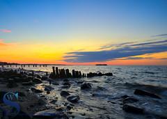 Sunrise Wildermere Beach (Singing With Light) Tags: 2016 28th alpha6000 mirrorless singingwithlight sonya6000 wildermerebeach august photography singingwithlightphotography sony sunrise walnutbeach
