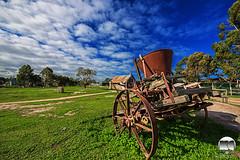 Abandon scrap iron (kenneth chin) Tags: cloud landscape marukoalaanimalpark nikon d810 nikkor 1424f28g australia melbourne yahoo google park