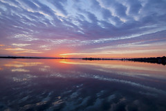 Cloudy Water (itsnoelb@yahoo.com) Tags: usa river florida edgewater indianriver cloudysunrise