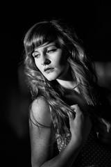 Raini (Steve Wampler Photography) Tags: light portrait woman model hard raini
