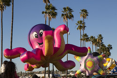 Big Bay Balloon Parade (Jill Clardy) Tags: ca pink blue trees winter sky holiday balloons bay big san day purple balloon diego bowl palm parade inflatable helium octopus inflated 4b4a2395