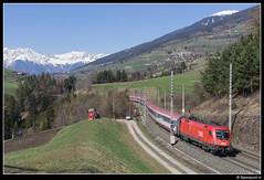 ÖBB 1116 111-6 - EC 87 (Spoorpunt.nl) Tags: am sneeuw brenner bergen 29 taurus öbb 87 ec maart 2014 eurocity matrei 1116