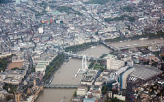 Aerial view of London (convergingpixels) Tags: london towerbridge aerialview thamesriver