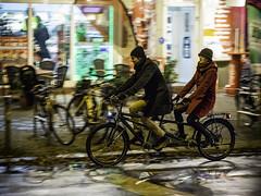 Drink and Click № 5: Couple on Tandem (kohlmann.sascha) Tags: street people woman man blur berlin bike bicycle deutschland donna cyclist traffic availablelight femme mulher streetphotography technik blurred menschen uomo event motionblur ciclista bicyclist mann tandem frau veranstaltung technique homem verkehr unscharf velo fahrrad homme cycliste mensch bewegungsunschärfe twowheeler schwenk panshot 女人 barrido 男人 男子 unschärfe fortbewegungsmittel 女子 bicyclerider fahrradfahrer zweirad elhombre biciclo deuxroues camerapanning streetfotografie laseñora strasenfotografie 双人自行车 kameraschwenk elciclista мужчи́на camérapanoramique 两轮车 же́нщина drinknclick велосипеди́ст drickandclick панорамирование фра́у челове́к rowertandemowy танде́м
