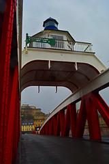 The Swing Bridge (Travis Pictures) Tags: city uk bridge england photoshop river newcastle nikon britain bridges gateshead tynebridge waterway newcastleupontyne rivertyne tyneandwear northeastengland d5200