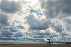 Deserted Victoria Beach (Jeannot7) Tags: sky ontario clouds lakeontario cobourg victoriabeach