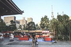 Scene of Asakusa (KT.pics) Tags: street old summer people urban landscape sensoji photography town stand shrine outdoor culture stall landmark nostalgic asakusa shinto exploration 500px cooljapan ktpics