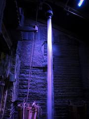 Escalafón (peladomal ) Tags: nyc newyorkcity blue usa ny newyork manhattan eu chelseamarket nuevayork