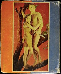 Big Little Book 1182 (1936). Movie Tie-In.  Johnny Weissmuller & Maureen O'Sullivan Photo Cover (lhboudreau) Tags: 1936 movie jane burroughs jungle whitman apeman tarzan blb edgarriceburroughs motionpicture osullivan movietiein backcover mti weissmuller erburroughs johnnyweissmuller photocover biglittlebooks maureenosullivan biglittlebook tarzanescapes whitmanpublishingcompany whitmanpublishingco whitmanpublishing jungletale treeswinger junglestory biglittlebook1182