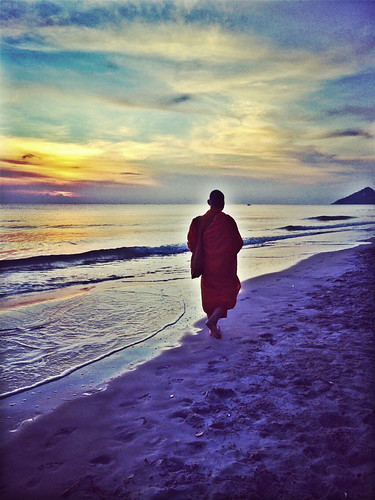 Monk Hua Hin beach
