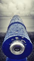 blue macro rain closeup seaside perspective samsung... (Photo: Mark.L.Sutherland on Flickr)