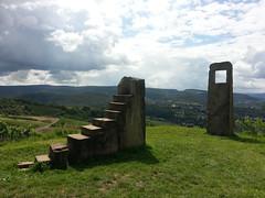 Galgenberg - Wiltingen (schternlie) Tags: fenster aussicht treppen galgenberg wiltingen