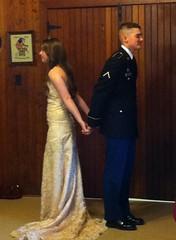 Wedding (Kaitlyn Peebles) Tags: wedding army armywife