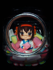 Err, can I have some Haruhi?? (patrickraful) Tags: anime olympus marshmallow kawaii figure moe figurine candyjar m43 suzumiyaharuhinoyuutsu suzumiyaharuhi jfigure themelancholyofharuhisuzumiya haruhiism nendoroid figurephotography microfourthirds micro34 nendonesia epl3 olympusepl3