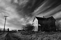 down that abandoned road (Aces & Eights Photography) Tags: abandoned decay oldhouse abandonedhouse abandonment ruraldecay