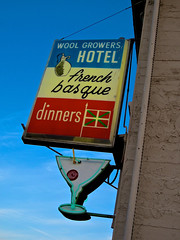 Wool Growers Hotel, Los Banos, CA (Robby Virus) Tags: california food wool french restaurant lamb booze dinners basque losbanos growers cocktrails