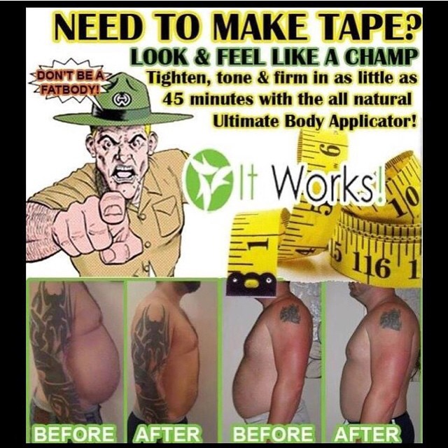 Men start the new year off right ! Keep those resolutions with a little help from it works!