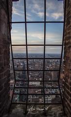 On the TOP! * view Torre degli Asinelli * (*Sylvi) Tags: people canon raw torre view ballon centro 8 emilia bologna dicembre paesaggio emiliaromagna romagna 2014 colli asinelli bolognesi flikers