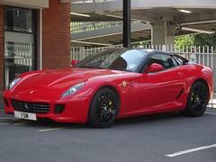 2007 Ferrari 599 GTB Fiorano F1 (harry_nl) Tags: england britain f1 ferrari coventry gtb 2014 599 fiorano 1sm