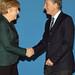 Mauricio Macri se reunió con la Canciller Angela Merkel