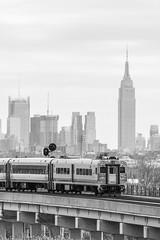 Cab to the City (sullivan1985) Tags: nyc newyorkcity skyline newjersey nj meadowlands line transit empirestatebu