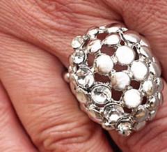 5th Avenue Silver Ring K2 P4141A-3
